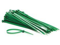Colliers de serrage en nylon - 4.8 x 190mm - vert (100pcs) (ECTG200)