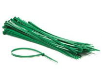 Colliers de serrage en nylon - 4.8 x 300mm - vert (100pcs) (ECTG300)