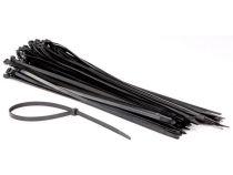 Colliers de serrage en nylon - 8.8 x 500mm - noir (100pcs) (ECTB500)