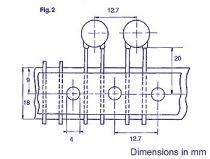 Condensateur ceramique 100pf (C100)