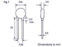 Condensateur ceramique 22pf (C22)