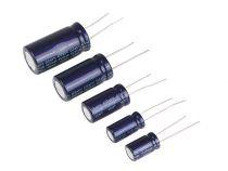 Condensateur chimique radial 1µf / 50v (1J0J)