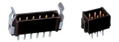Connecteur male  2mm etame dore 17pt