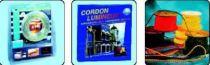 Cordon lum 4m jaune (130177)