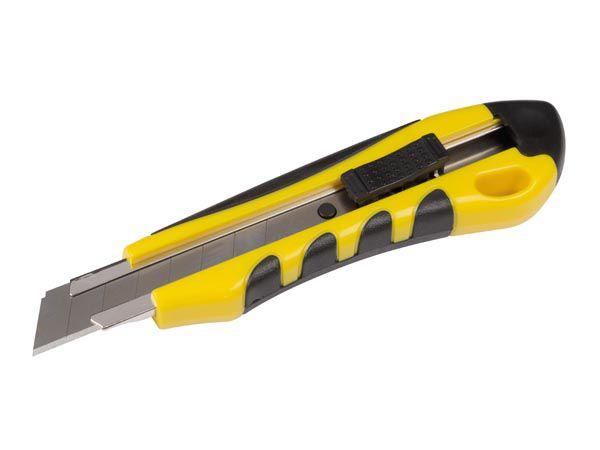 Cutter robuste - avec  système de blocage - lame 18 mm (MES88A)