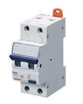 Disjoncteur magnétothermique différentiel compact - 2p courbe b 10a 230v 6000a (en61009-1) 7,5ka (en60947-2) classe a idn=0,03a