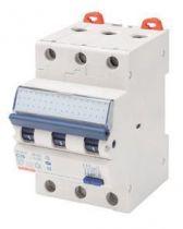 Disjoncteur magnétothermique différentiel compact - 3p courbe c 10a 230v 6000a (en61009-1) 10ka (en60947-2) / 400v 6000a (en6100