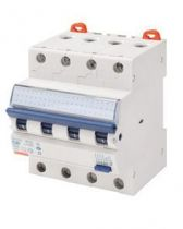 Disjoncteur magnétothermique différentiel compact - 3p courbe c 16a 230v 6000a (en61009-1) 10ka (en60947-2) / 400v 6000a (en6100