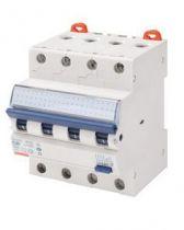 Disjoncteur magnétothermique différentiel compact - 3p courbe c 6a 230v 6000a (en61009-1) 10ka (en60947-2) / 400v 6000a (en61009