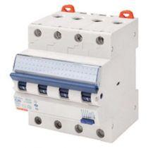 Disjoncteur magnétothermique différentiel compact - 4p courbe b 16a 230v 6000a (en61009-1) 10ka (en60947-2) / 400v 6000a (en6100