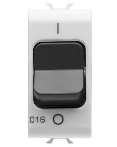 Disjoncteurs magnétothermique - 1p 6a 3ka - 1 module - blanc - chorus
