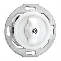 Double interrupteur simple rotatif en porcelaine (186879)