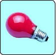E27 std.col 230v rouge 60w (005141)