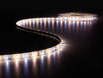 ENSEMBLE DE FLEXIBLE LED, CONTRÔLEUR ET ALIMENTATION - 300 LED - 5 m - 12 VCC - BLANC CHAUD & BLANC NEUTRE