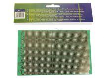 Eurocard a bande cuivree - 100x160mm - fr4 (1pc/bl) (ECL)