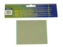 Eurocard pastille 1 trou -100x80mm - fr4 (1pc/bl) (ECS1/2)