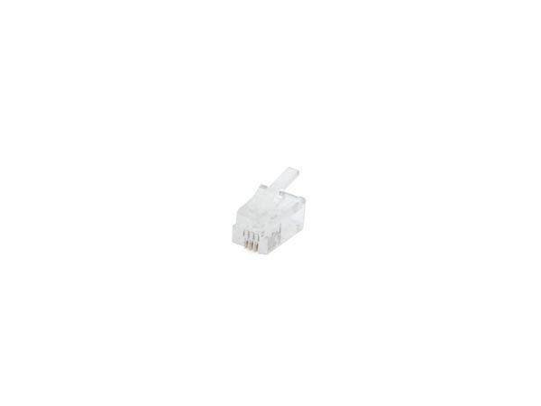 Fiche modulaire rj10 4p4c (4P4C)