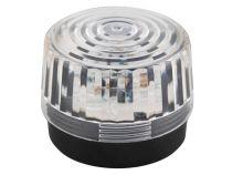 Flash Stroboscopique À Led - Transparent - 12 Vcc - Ø 100 Mm (HAA100WN)