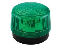Flash stroboscopique à led - vert - 12 vcc - ø 100 mm (HAA100GN)