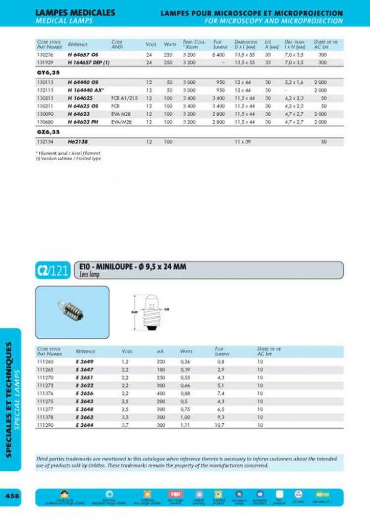 G6,35 12x44 12v 50w axial