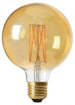 Globe G95 Filament LED 4W E27 2100K 320Lm Dimmable Ambrée (716600)