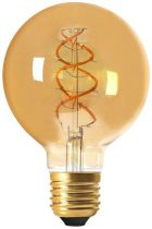 Globe G95 Filament LED TWISTED 4W E27 2000K 200Lm Dimmable Ambrée (716611)