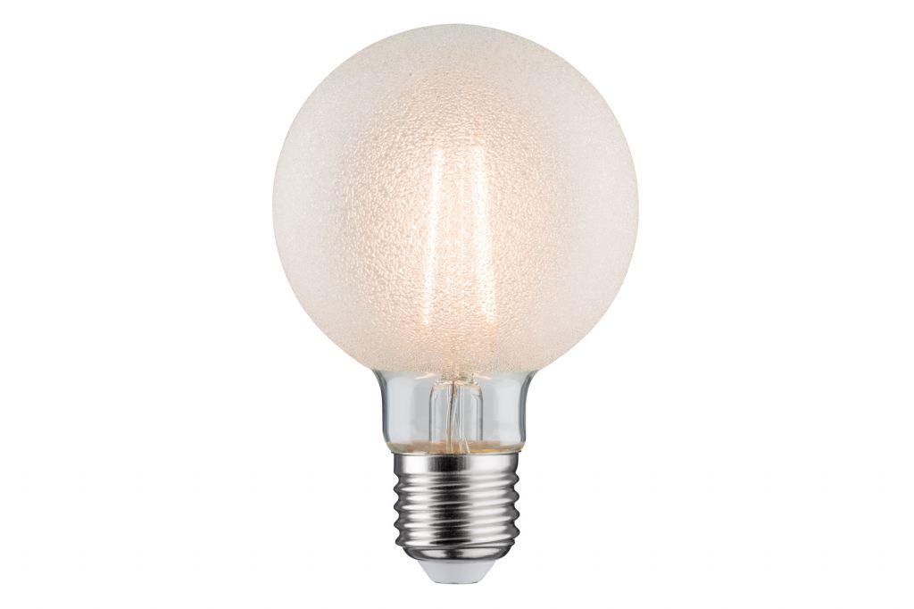Globe rétro LED 80 6W E27 Granité Blanc chaud gradable (28485)