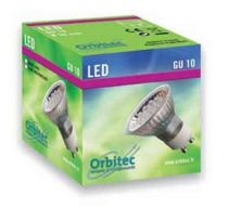 Gu10 led 230v rouge ferme eco
