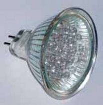 Gu5,3 led 12vac rouge fer. eco