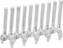 Guide lumiere verticale 2x10 elements diametre 3mm longueur 15mm