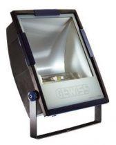 Horus 3 - avec lampe - optique asymétrique intensive - 250w mt e40 230v- 50hz - ip65 - classe ii - gris fumé