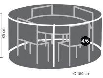 HOUSSE D\'EXTÉRIEUR POUR ENSEMBLE DE JARDIN ROND - Ø 150 cm (OCGS150)