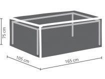 HOUSSE D\'EXTÉRIEUR POUR TABLE max. 160 cm (OCT160)