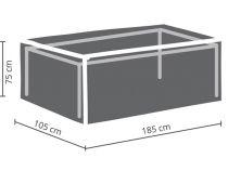 HOUSSE D\'EXTÉRIEUR POUR TABLE max. 180 cm (OCT180)