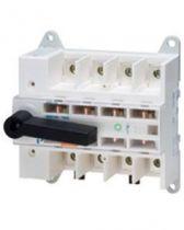 Interrupteur de manoeuvre sectionneurs - mss 160 - 4p 160a 400v - 8 modules
