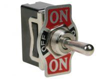 Inverseur unipolaire à levier on-off-on 10a/250v - modèle économique (JS-510CLC)