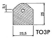 Isolant silicone calorifere pour to3p (S/TO3P)