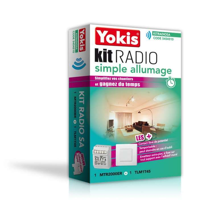Kit Radio Simple Allumage Yokis 5454510