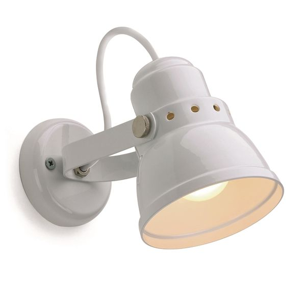 lampe d\'atelier rétro métal noire. E27 diam 10cm (182553)