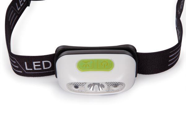 LAMPE FRONTALE À LED ET CAPTEUR ON/OFF - RECHARGEABLE (EHL21)