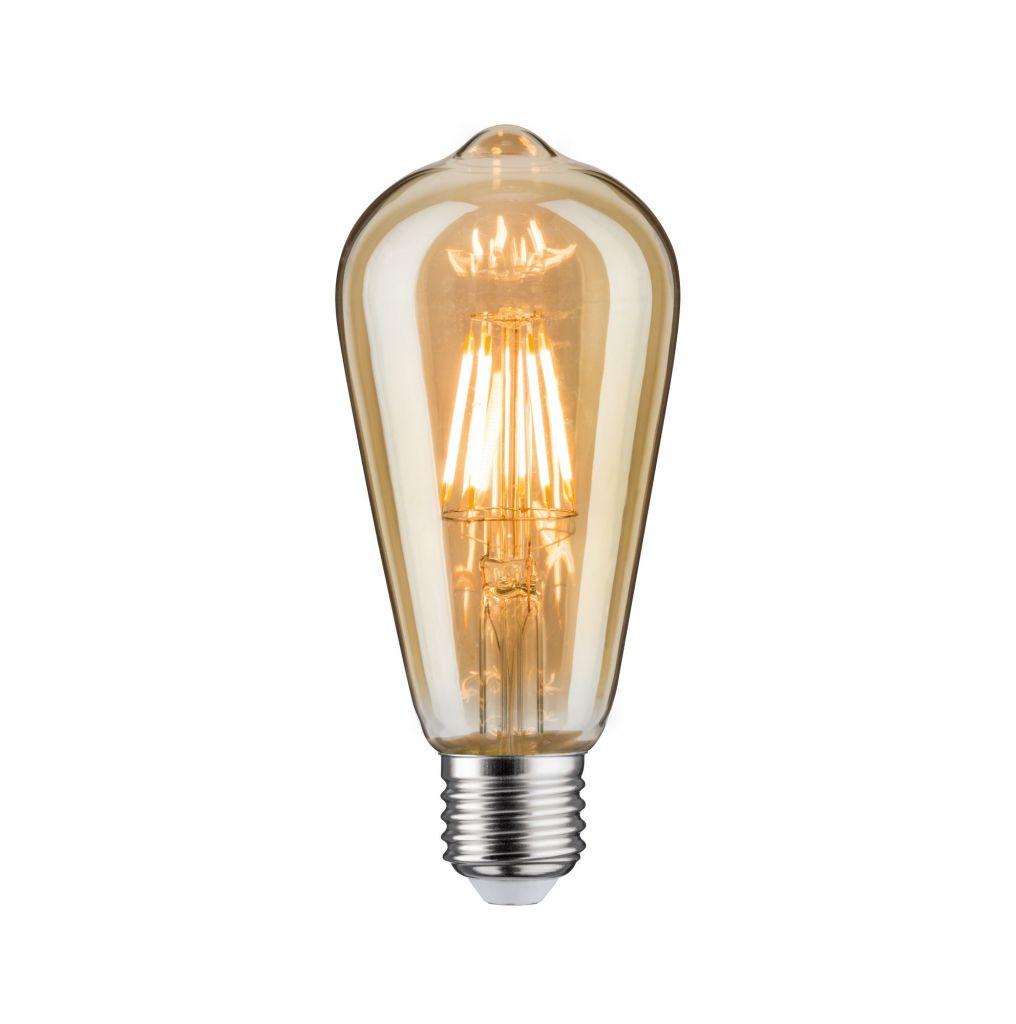 LED ST64 680lm E27 6,5W Doré 2500K 230V (28717)