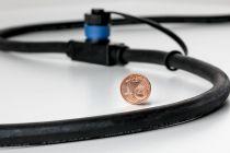 Luminaires encastrés à poser sur le sol Plug&Shine IP67 3 W 24 V Anthracite (93916)