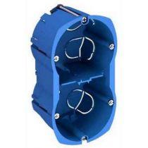 Multifix, boîte 2 postes entraxe 57 mm, diamètre 67 mm, profondeur 50 mm