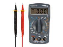 Multimètre numérique 3 ½-digits - 19 gammes - cat iii 300 v (DVM832)