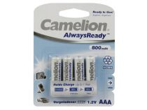 Nimh aaa/r03 1.2v-800mah (4/carte) alwaysready™ (HR3C/08AR)