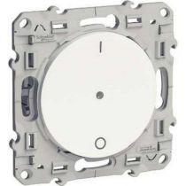 Odace + blanc, interrupteur électronique 3 fils (n) pluslink 10 a