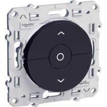 Odace, interrupteur Anth., 3 boutons montée/descente/stop pour volets-roulants (S540208)