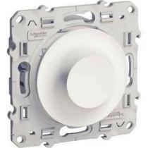 Odace, variateur pour lampes fluocompactes blanc, 9…100w, 2 fils