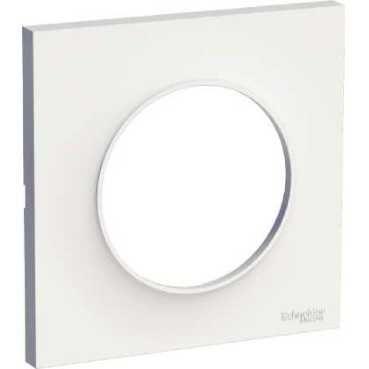 Odace styl, plaque blanc 1 poste (S520702)