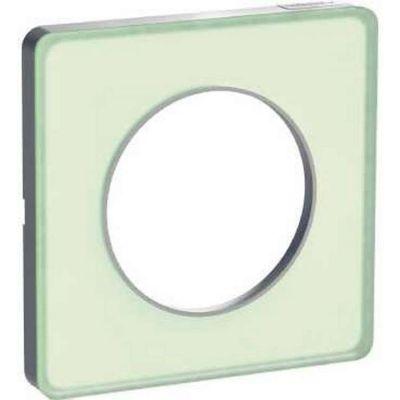 schneider s530802s odace touch plaque translucide verre. Black Bedroom Furniture Sets. Home Design Ideas